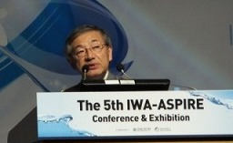 Prof. Hanaki, the University of Tokyo, <BR>gave an ASPIRE lecture.
